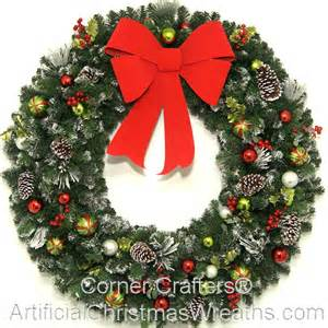 4 foot christmas magic wreath artificialchristmaswreaths