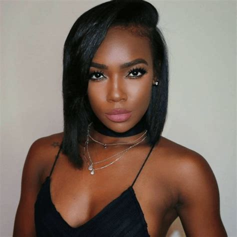 Dark Skin Celebrity Hair Style Black Women | 9 soft pink lipsticks for black women with dark skin