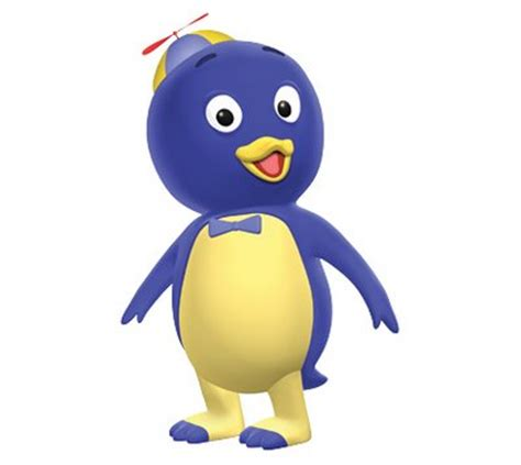 image pablo the penguin character of the backyardigans