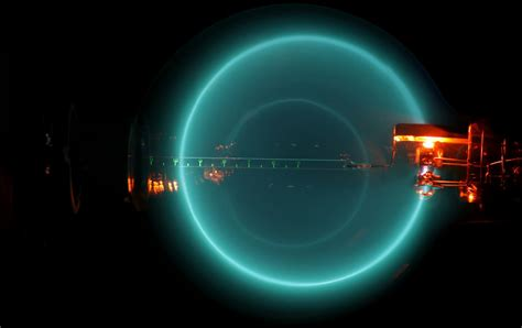 Bending Of Light Electromagnetic Radiation Which Cyan Colored Line Is