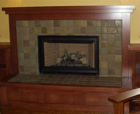 craftsman style fireplaces fireplace craftsman design