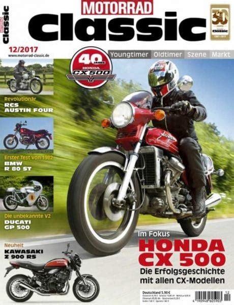 Motorrad Classic Magazine by Motorrad Classic Dezember 2017 Pdf Download Free