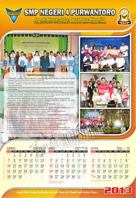 desain kalender bulanan desain kalender 3 bulan gubug gallery