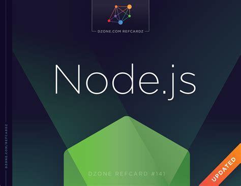 node js node js dzone refcardz