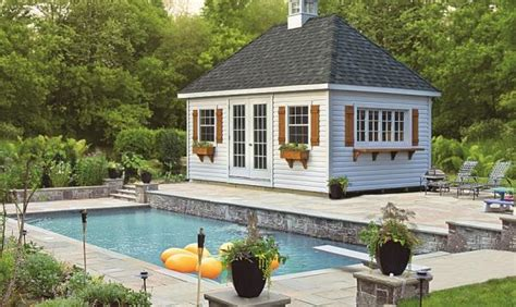pool shed ideas pool shed ideas designs pool storage in pa homestead