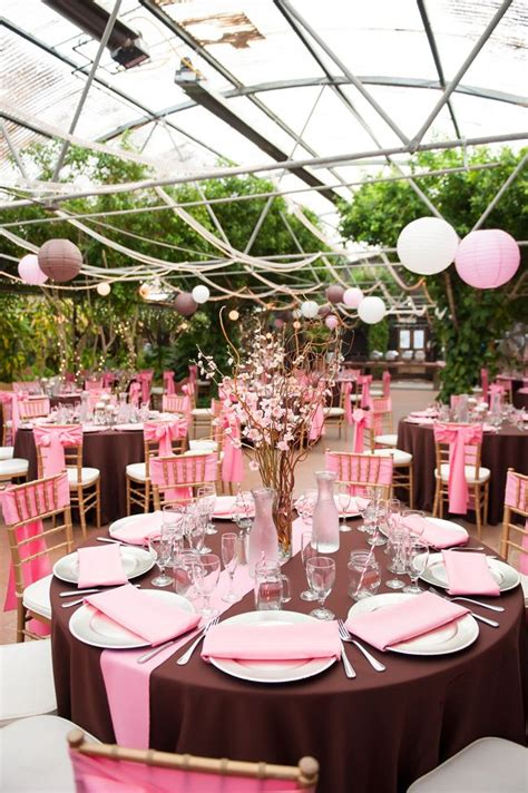 pink and brown japanese cherry blossom themed wedding best entertaining and wedding