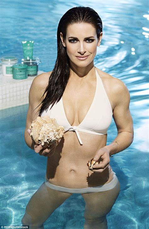 Photoshoot Detox by Kirsty Gallacher Strips To White For Chneys