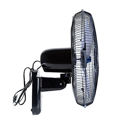 quiet wall mount fan with remote heavy duty quiet 16 inch digital wall mount oscillating