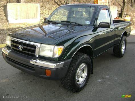 1999 Toyota Tacoma Regular Cab 1999 Imperial Jade Mica Toyota Tacoma Regular Cab 4x4