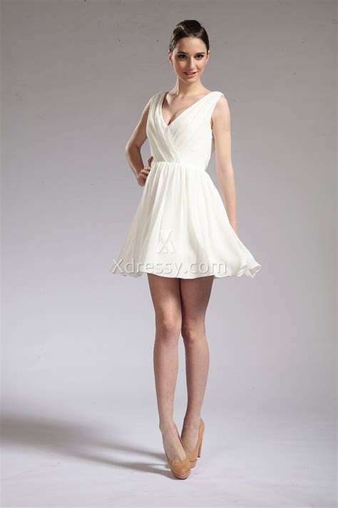Elizabeth Taylor Cat on a Hot Tin Roof Vintage White Cocktail Bridesmaid Dress   Xdressy