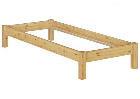 futonbett ohne kopfteil futonbett ohne kopfteil kiefer massiv 90x200 bettgestell