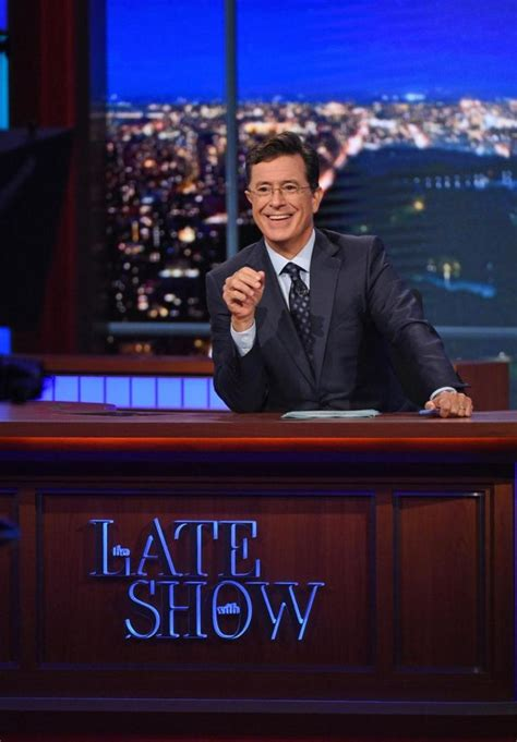 who is the real stephen colbert an early peek at his late stephen colbert s late show nabs post super bowl time
