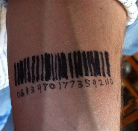 barcode henna tattoo barcode tattoos and designs page 32