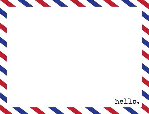 airmail postcard template airmail envelope template another new listing in my etsy