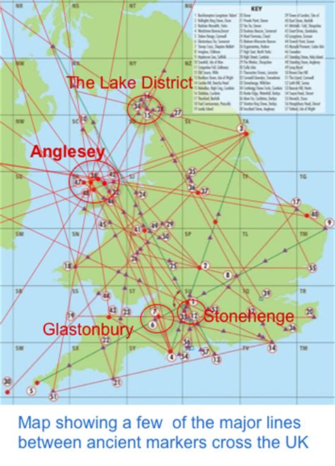 ley lines map leylines