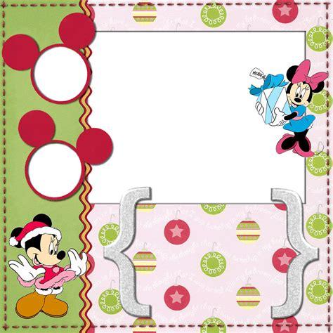 imagenes navideñas para imprimir gratis marcos navide 241 os de minnie y mickey para imprimir gratis