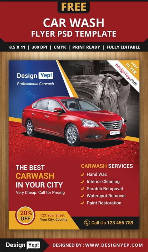 Car Service Post Card Template by 12 Best Images About Flyer Template On Cars