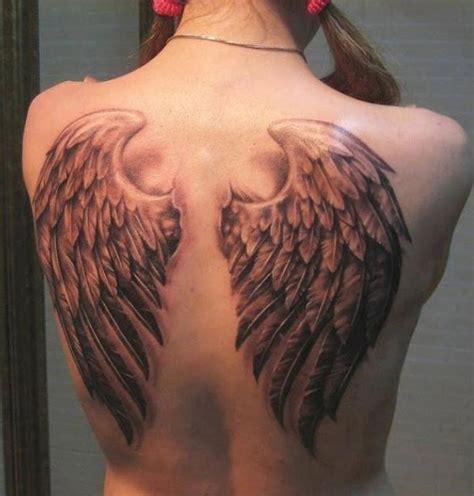 tattoo ali schiena foto tatuaggio ali angelo su tutta la schiena the house