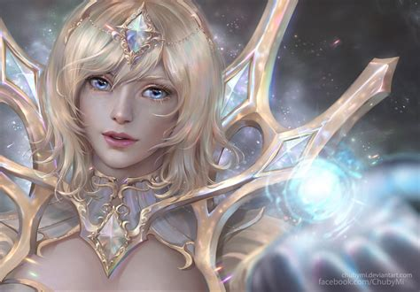 Lu X elementalist light lol wallpapers