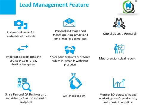 rsa lead card for exhibitors template sales lead management that is easy effective smart
