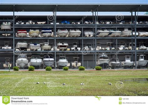 boat storage terms boat storage facility stock photos image 1267283