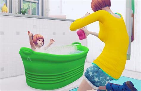 portable bathtub  dog  toddler  imadako sims  updates