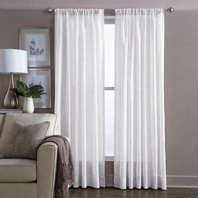 wamsutta curtains wamsutta 174 sheer window curtain panel bed bath beyond