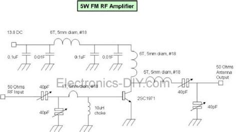 rf transistor lifier design and matching networks index 38 lifier circuit circuit diagram seekic