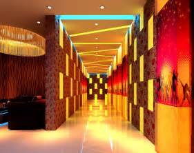 Design House Barcelona Lighting Ktv Hallway Lighting Design Rendering