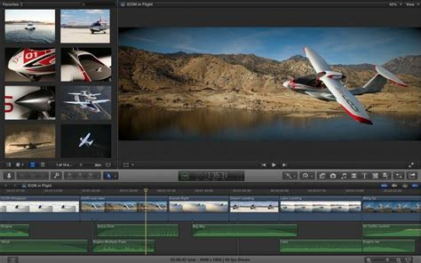 final cut pro editing best video editing software for mac