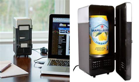 mini frigo de bureau un mini frigo usb 224 d 233 poser sur votre bureau