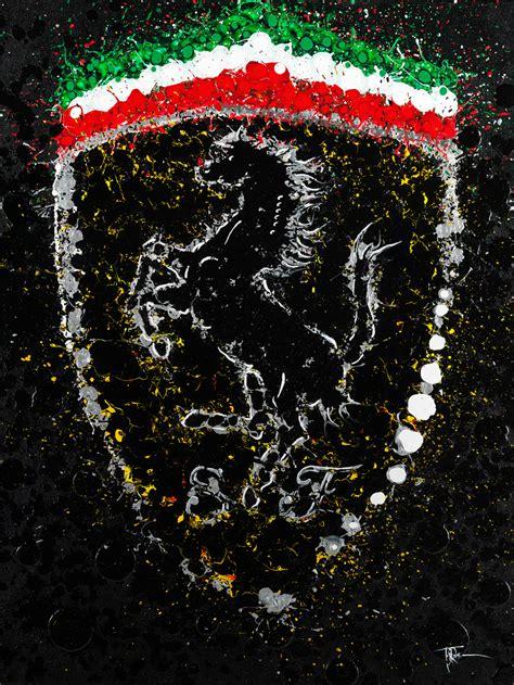 ferrari art scuderia timothy raines