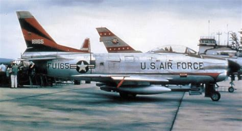 F F S usaf american f 86d saber from the 526th fis