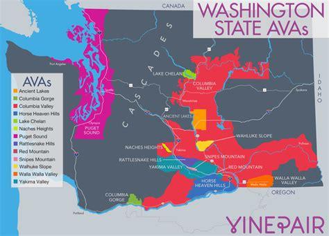oregon wine country map pdf washington vineyards map