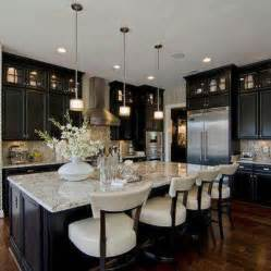 kitchen cabinets with light granite countertops dark cabinets light granite home kitchen pinterest