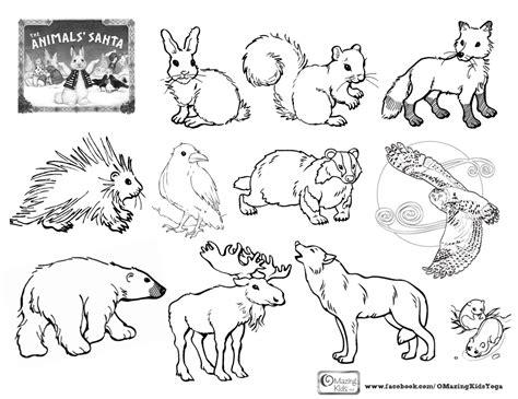 coloring book playlist the animals santa by jan brett an omazing