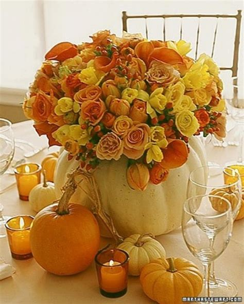 65 Awesome Pumpkin Centerpieces For Fall And Halloween