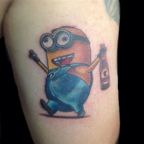 minion tattoo designs a collection of minion tattoos from despicable me