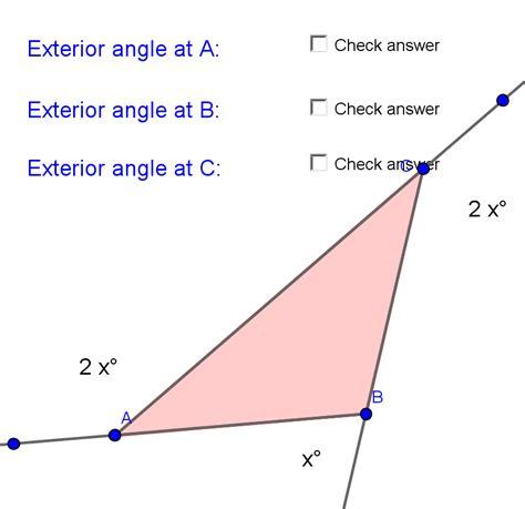 exterior angle equation jennarocca
