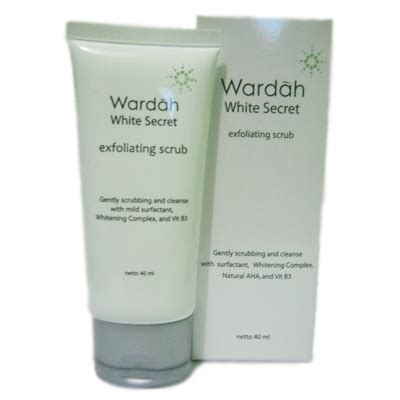 Kosmetik Wardah White Secret 5 wardah white secret exfoliating scrub jakarta kosmetika