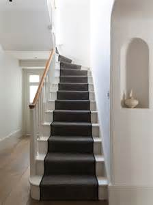 Painted Stairs Design Ideas Striped Carpet Stairs Home Design Ideas Pictures Remodel And Decor