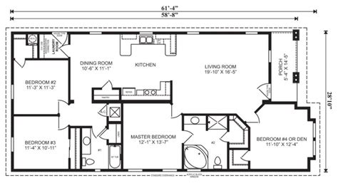 3 bedroom mobile home floor plans modular home floor plans and designs pratt homes 3 bedroom