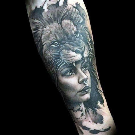 50 realistic lion tattoo designs for men felidae ink ideas