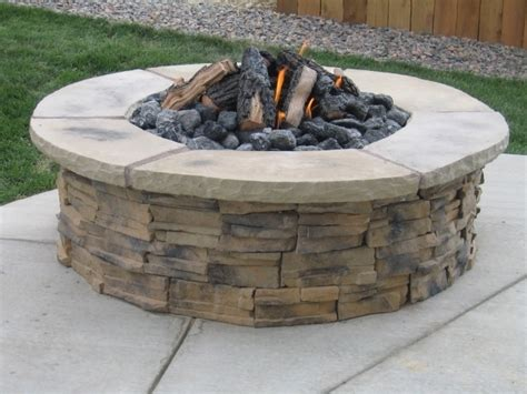 diy pit with stones stunning gas pit stones design and ideas diy gas firepit with glaas pit ideas
