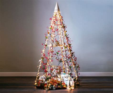 jubiltree a reusable wooden christmas tree wooden alternatives to green up your tree