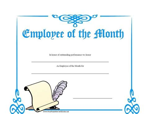 employee certificate template 8 employee recognition certificates free premium