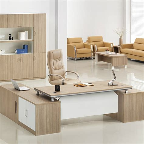 desktop table design professional manufacturer desktop wooden office table
