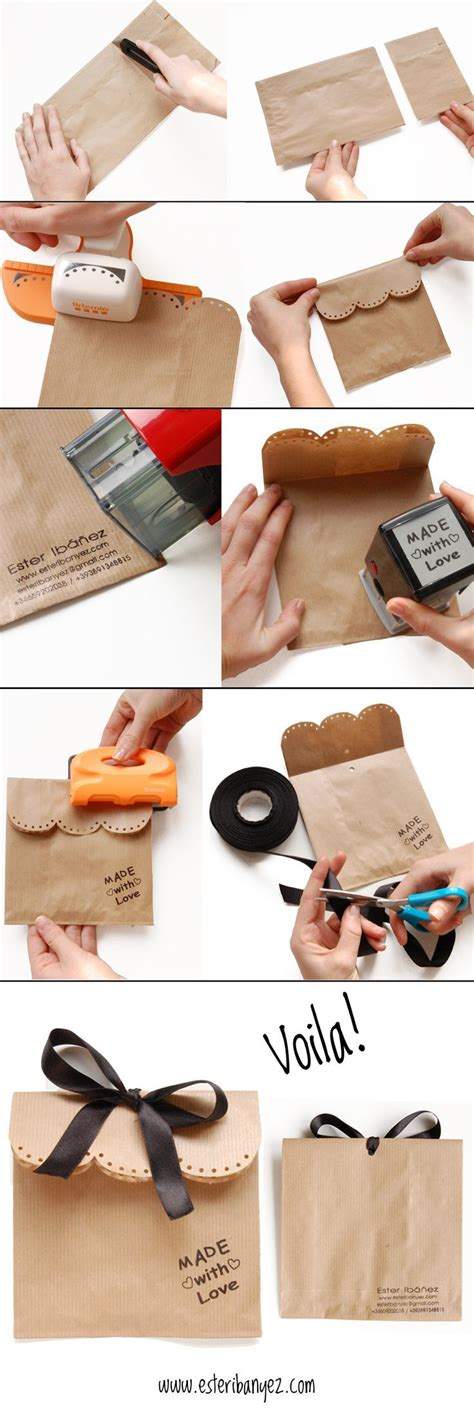 How To Make Goody Bags Out Of Paper - 100 of the best diy gifts