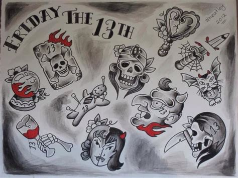 13 dollar tattoos 10 best images about friday the 13th tattoos on