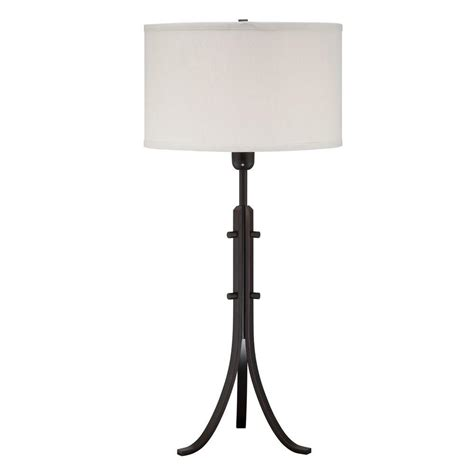 illumine designer 32 5 in aged black incandescent table